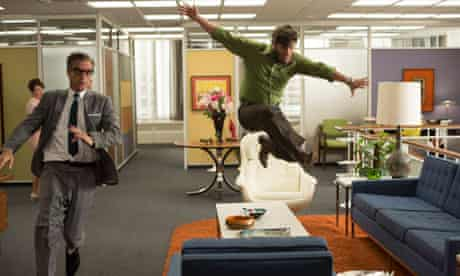 Jim Cutler (Harry Hamlin) and Stan Rizzo (Jay R Ferguson) on their uppers in Mad Men.