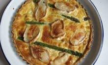 Marcus Bean's asparagus tart