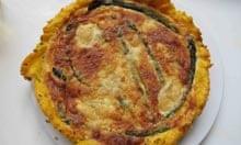 Hugh Fearnley-Whittingstall's asparagus tart