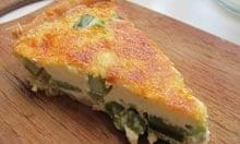 Delia Smith's asparagus tart