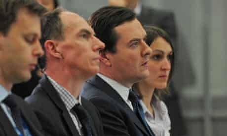 IMF press conference with George Osborne, chancellor