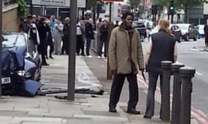 The second suspect in Woolwich.