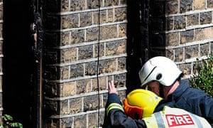 Huddersfield house fire
