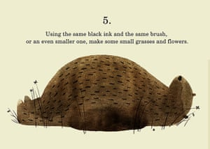 How to draw a bear: Step 5