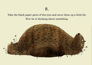 How to draw a bear: Step 8