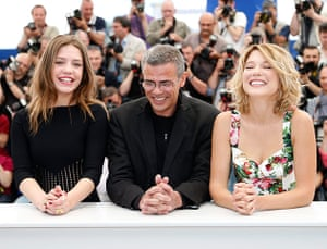 cannes photocalls: Blue is the Warmest Colour