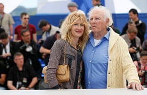 cannes photocalls: Bruce Dern poses with his daughter Laura Dern