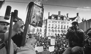 Demonstration against Satanic Verses