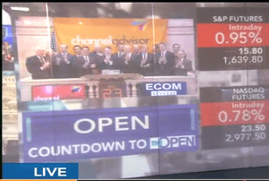 Open of Wall Street, May 23rd 2013