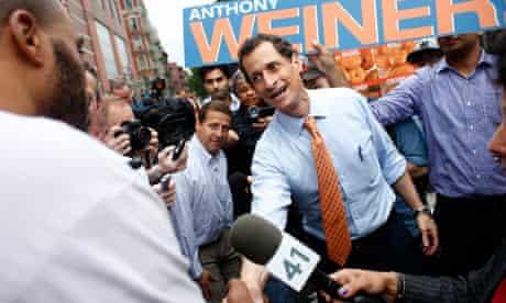 Anthony Weiner in Harlem