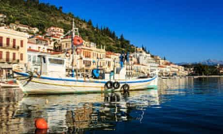 Gytheio old fishing harbour