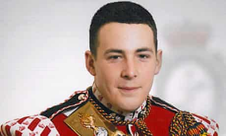 Drummer Lee Rigby, who was killed in a knife attack by two men in Woolwich