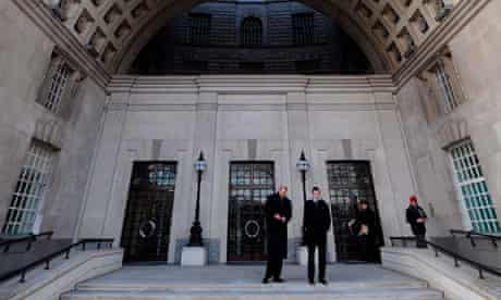 Thames House, the MI5 headquarters