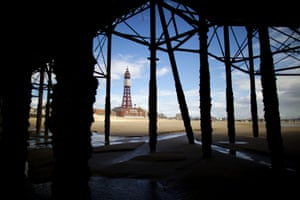 Blackpool pier is 150 years old