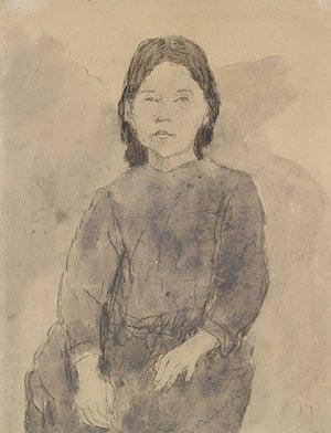 Ashmolean: Young Girl