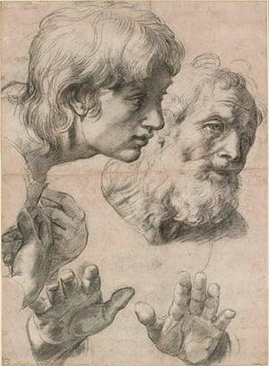 Ashmolean: Two Apostles