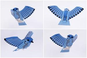 Lego Birds: North America: Monty the Mountain Bluebird