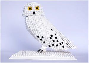 Lego Birds: North America: Stormy the snowy owl