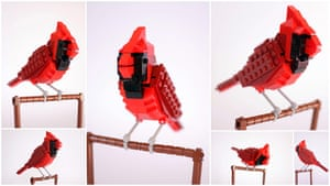 Lego Birds: North America: Norman the Northern Cardinal