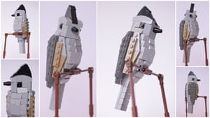 Lego Birds: North America: Benny the Black-Crested Titmouse