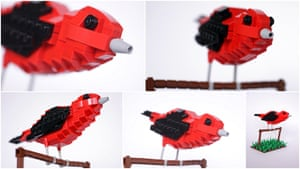 Lego Birds: North America: Scotty the Scarlet Tanager