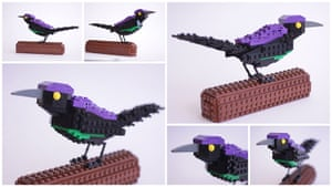 Lego Birds: North America: Gary the Great Tailed Grackle