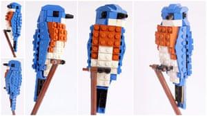 Lego Birds: North America: Eric the Eastern Bluebird