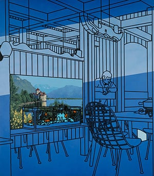 Patrick Caulfield: After Lunch, 1975