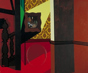 Patrick Caulfield: Interior with a Picture 1985-6