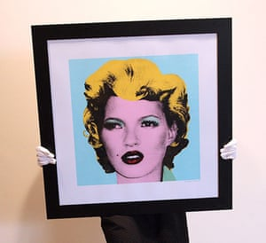10 best: Kate Moss by Banksy