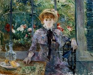 10 best: After Lunch by Berthe Morisot