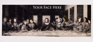 Pussy Riot:  Your Face Here: Some Living  Women Artist/Last Supper