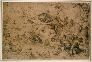 Old master drawings: Pieter Bruegel the Elder (1525/30-1569), The Temptation of St Anthony