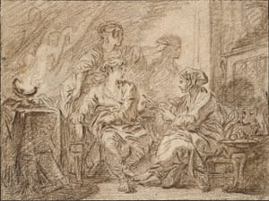 Old master drawings: François Boucher (1703-1770), The Invention of Drawing