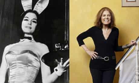 Gloria Steinem bunny costume