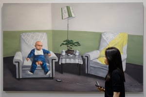 Art Basel: 'The position of father' by Zhang Xiaogang