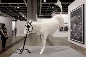 Art Basel: 'Cheval de Turin' by Adel Abdessemed