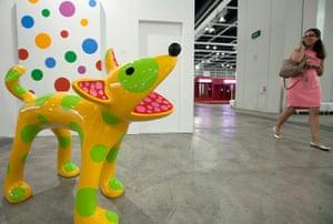 Art Basel: 'Ton Toko' 2013 by Japanese artist Yayoi Kusama