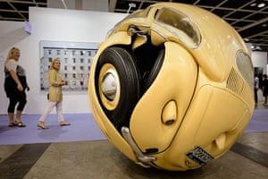Art Basel: 'Beetle Sphere' by Ichwan Noor
