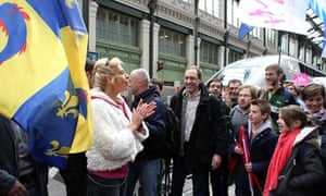 French anti-gay marriage activist Virginie Tellene, aka Frigide Barjot