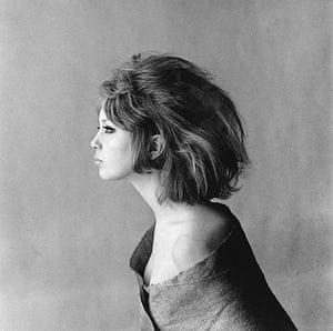 Eric Swayne at Proud: Pattie Boyd in profile, 1963