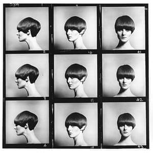 Eric Swayne at Proud: Grace Coddington modelling Vidal Sassoon's 5-point bob, 1964