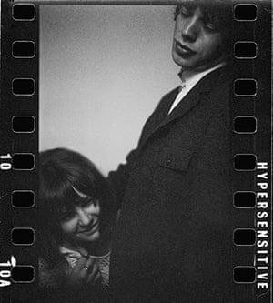 Eric Swayne at Proud: Mick Jagger and Chrissie Shrimpton, 1963