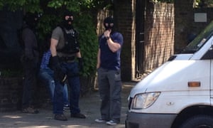 Woolwich murder: armed police arrest man on north London street