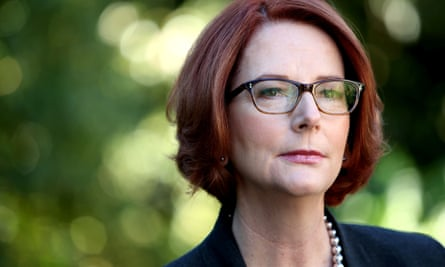 Julia Gillard had repeatedly refused, when pressed, to guarantee she would stay in parliament if Labor lost the election.
