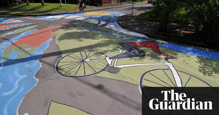 Portland 39 S Painted Streets Travel The Guardian