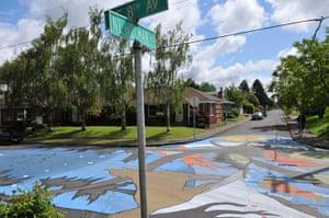 Portland street art: