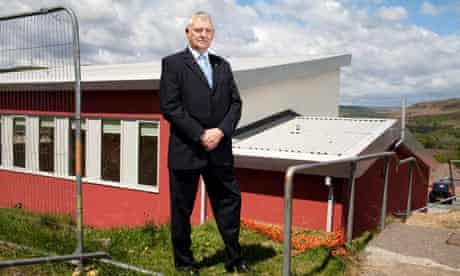 Deputy mayor Glyncoch community centre