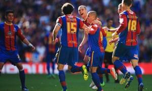 Crystal Palace celebrate.