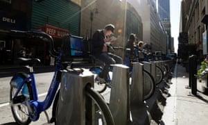 New York bike share Citi Bike